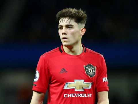 Ryan Giggs reveals what he told Daniel James before Manchester United beat Manchester City