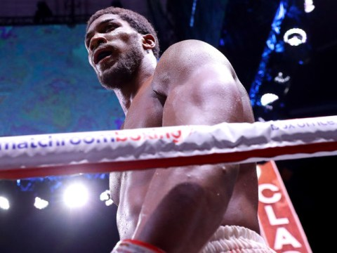 Anthony Joshua thinks location dispute is holding up Deontay Wilder fight