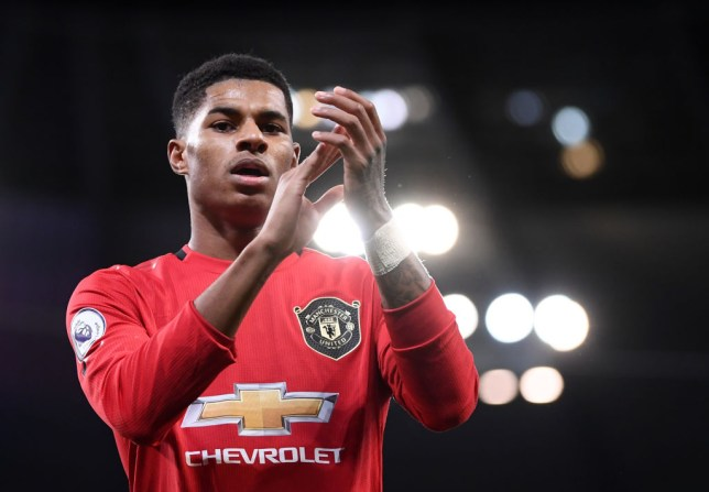 Marcus Rashford has been in spectacular form for Manchester United of late