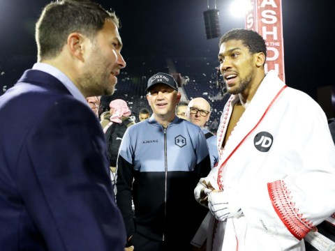Eddie Hearn reacts to Anthony Joshua's sparring offer to Tyson Fury for Deontay Wilder rematch