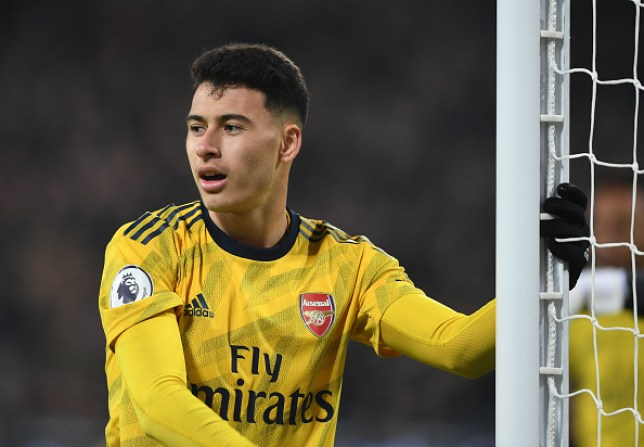 Gabriel Martinelli became the youngest player to score on their Premier League debut for Arsenal during Monday's win over West Ham