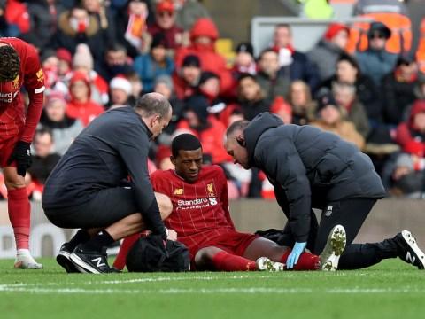 Jurgen Klopp provides Georginio Wijnaldum injury update after Liverpool beat Watford