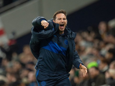 Frank Lampard explains decision to switch Chelsea formation against Tottenham