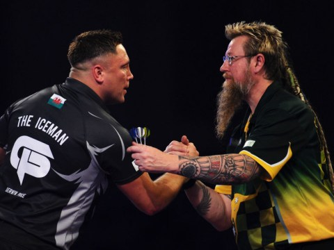 Gerwyn Price slams Simon Whitlock for 'pathetic pace' during PDC World Darts Championship win