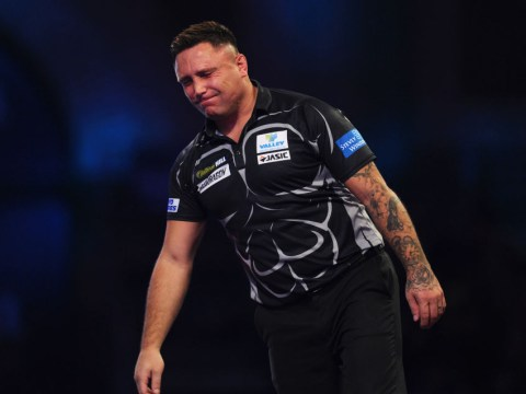 Gerwyn Price issues apology to Peter Wright after tetchy PDC World Darts Championship semi-final
