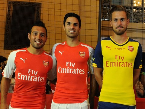 Aaron Ramsey and Santi Cazorla react to Mikel Arteta's appointment at Arsenal