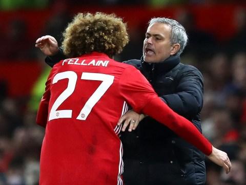 Marouane Fellaini rules out reunion with Jose Mourinho at Tottenham