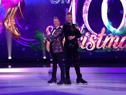 Ian 'H' Watkins and Matt Evers wow viewers with first ever same-sex Dancing On Ice routine