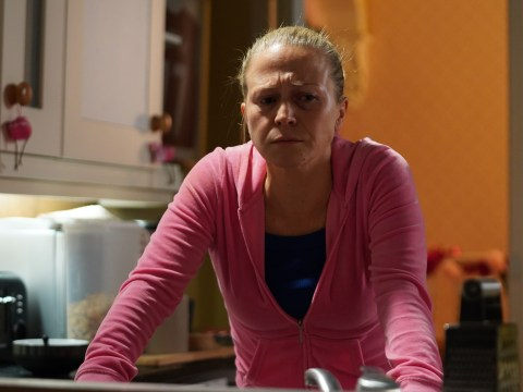 Where was Linda Carter in EastEnders on Christmas Day?