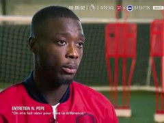 Nicolas Pepe unhappy over Unai Emery sacking at Arsenal