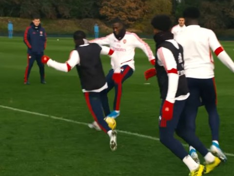 Nicolas Pepe impresses Freddie Ljungberg with superb skill in Arsenal training