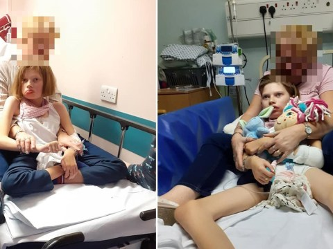 Mum forced to stay in disabled daughter's hospital bed to stop her falling out