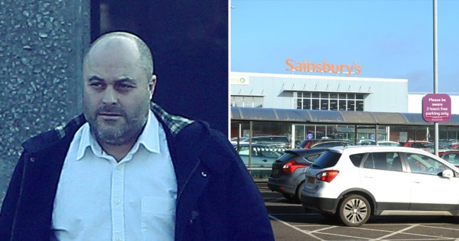 Girl, 9, catches man filming her mum in Sainsbury's changing room