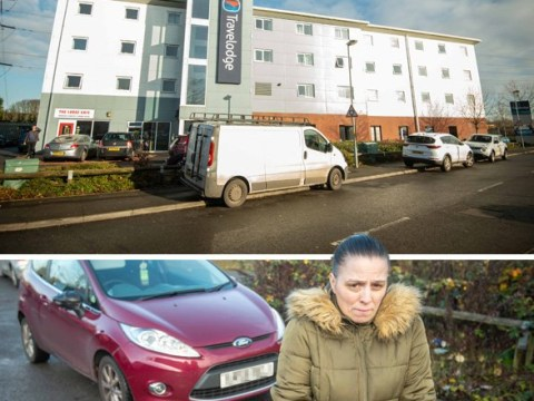 Family forced to live in a car for two weeks after falling into arrears on rent