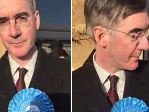Jacob Rees-Mogg has finally been found – but runs away when asked about Grenfell