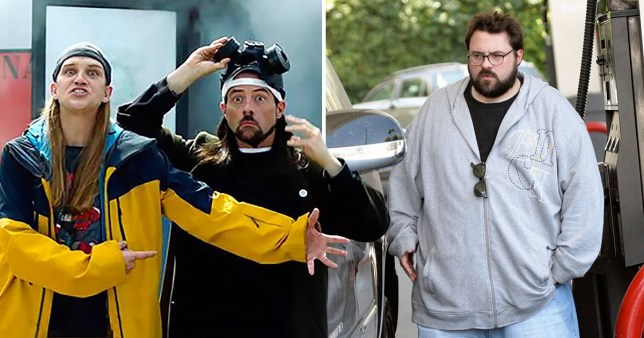 Kevin Smith and Jason Mewes in Jay And Silent Bob Reboot