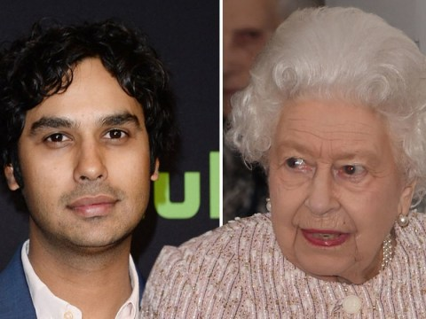 The Big Bang Theory's Kunal Nayyar almost fainted meeting Queen Elizabeth