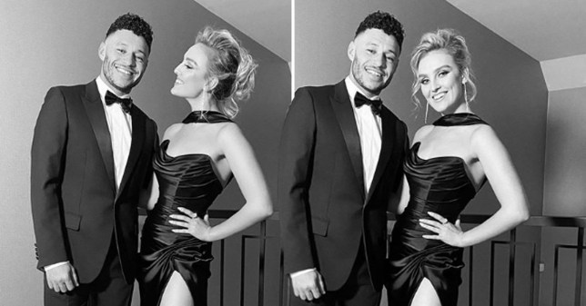 Little Mix's Perrie Edwards and her boyfriend