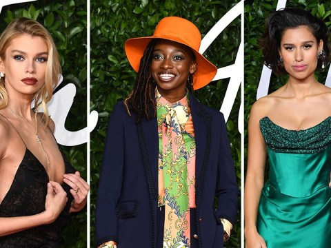 Little Simz is a colour-blocking queen as she joins Stella Maxwell and RAYE at British Fashion Awards 2019