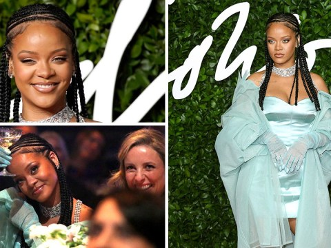 Rihanna slays The Fashion Awards 2019 in mint green ensemble and we can't help but stan