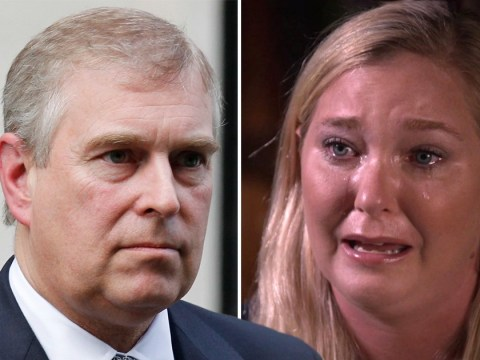 Epstein victim breaks down as she describes alleged sex with Prince Andrew