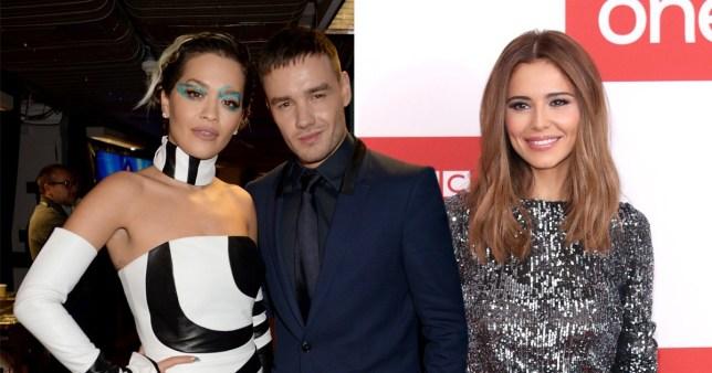 Rita Ora, Liam Payne and Cheryl