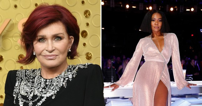 Sharon Osbourne and Gabrielle Union