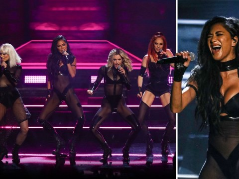 Nicole Scherzinger reveals Pussycat Dolls were left battered and bruised after fall during X Factor: Celebrity performance
