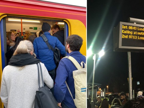 Day two of travel hell for South Western commuters as strike continues