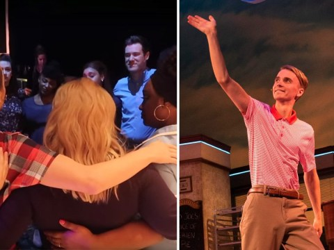 Joe Sugg emotional as he performs in Waitress for last time ahead of Strictly Christmas special