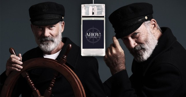 Captain Birds Eye is releasing a signature scent for Christmas