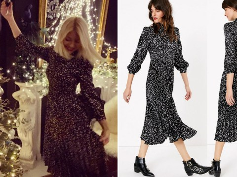 Shoppers love Holly Willoughby's £50 M&S Christmas party dress