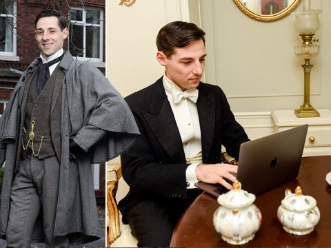 Millennial man who lives his life in the Victorian era never swears and wants a date who wears a bustle