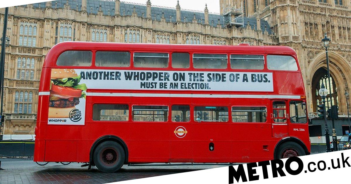 Burger King mocks Vote Leave's Brexit battle bus