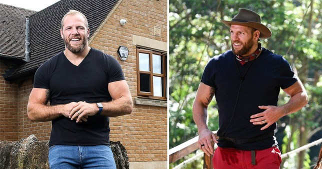 James Haskell S Rugby Teammate Can T Believe Huge I M A Celebrity Weight Loss Metro News