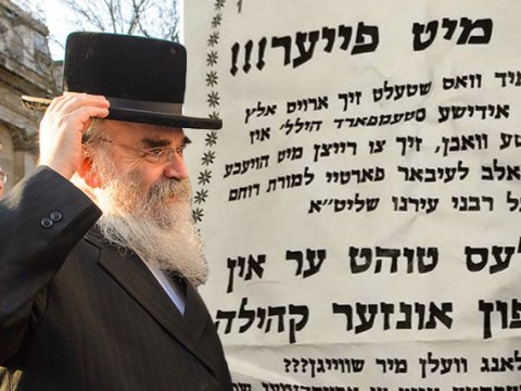 Posters call for murder of Rabbi who criticised Diane Abbott on anti-Semitism