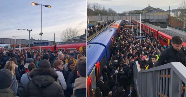 The UK's longest ever rail strike has entered its fourth day (Picture: jonoshawo)