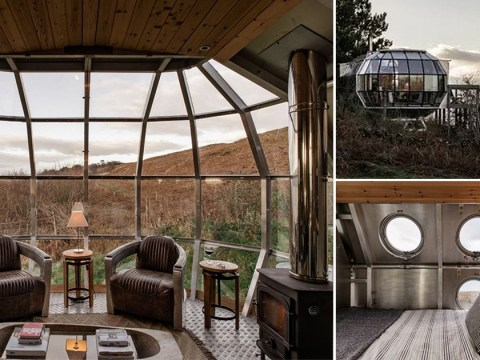You can now stay in an airship in Scotland for £150 a night