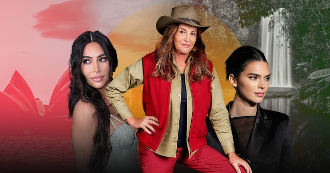 I'm A Celebrity's Caitlyn Jenner and daughters