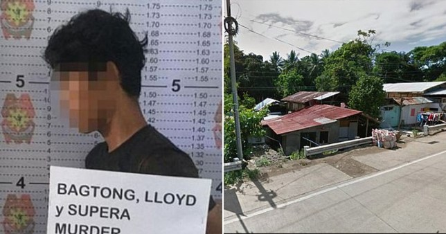 Lloyd Bagtong allegedly killed the woman on Thursday
