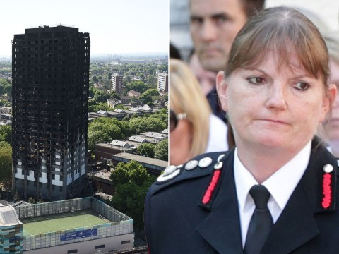London fire chief to quit four months early in wake of damning Grenfell report