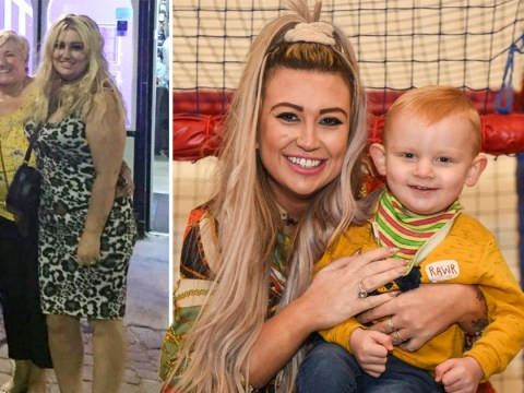Mum loses four stone so she can 'be the legs' for her disabled son