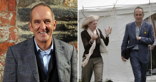 Kevin McCloud and his wife Suzanna