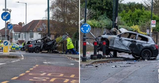 Fatal Crash Dollis Hill