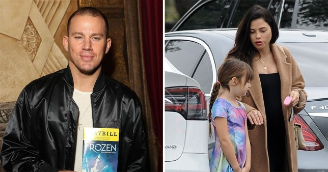 Channing Tatum on daddy duty as he takes Everly to Frozen musical after Jenna Dewan divorce stumbles