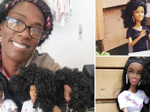 Woman opens shop selling black dolls as a way to cope with grief