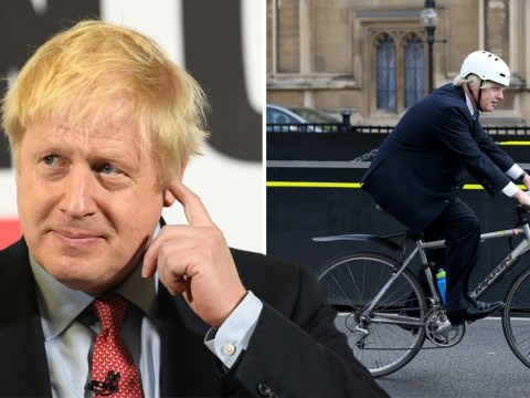 Boris Johnson claims 'riding bike on pavement' is the naughtiest thing he's ever done