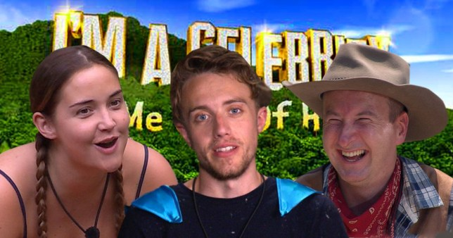 I'm A Celebrity 2019 final Jacqueline Jossa, Roman Kemp and Andy Whyment