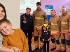 Boy, 5, saved mum's life by calmly calling 999 when he found her collapsed