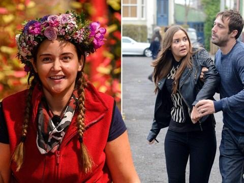 When was Jacqueline Jossa in EastEnders and did her character Lauren Branning die?